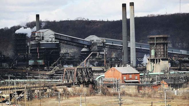 Industryweek 31359 Us Steel Steel Plant Pennsylvania