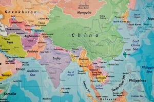 Map Of Asia © Lunatic67