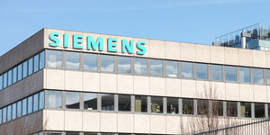 Siemens Location Munich Building Exterior Logo © Tomnex Dreamstime