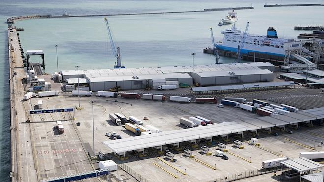 Trucks At Port 60a7f5ffdd190