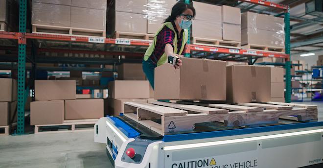 Fetch Robotics And Zebra Technologies Case Picking Solution
