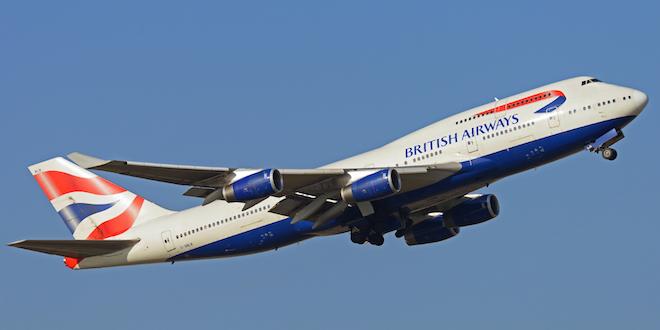 British Airways Airplane Civil Aviation Aerospace Boeing © Avpics Dreamstime