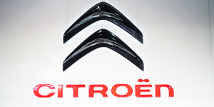Citroen Logo White Bg Automotive Stellantis © Hupeng Dreamstime