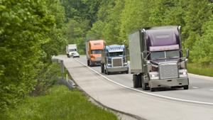 Trucks On Highway 60c7a0abda494