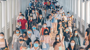 Group In Masks