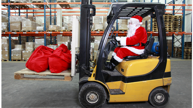 Santa Claus On Forklift 60f597e2c1a31