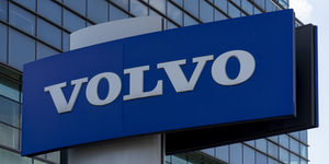 Volvo Logo Sign Signage Blueish © Vadreams Dreamstime
