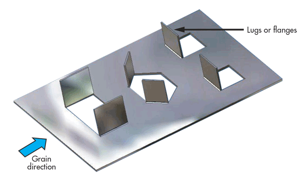 Following Dfm Guidelines For Working With Sheet Metal Machine Design