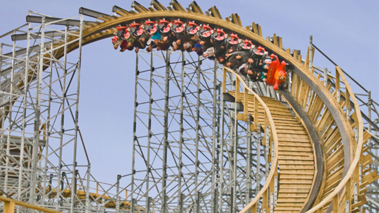What A Ride Wooden Roller Coasters Machine Design