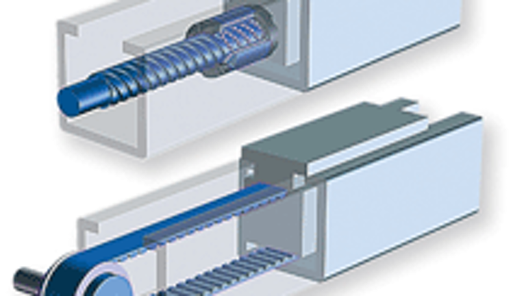 Conceptual design of the coupling for the ball screw and slide.