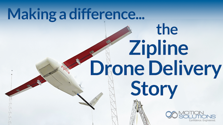 Drone Systems Enable Blood Delivery Machine Design