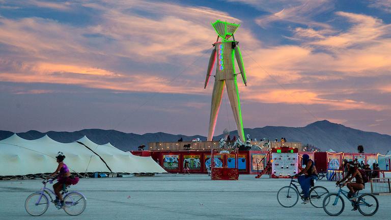 Burning Man 2011 - Google Earth Blog