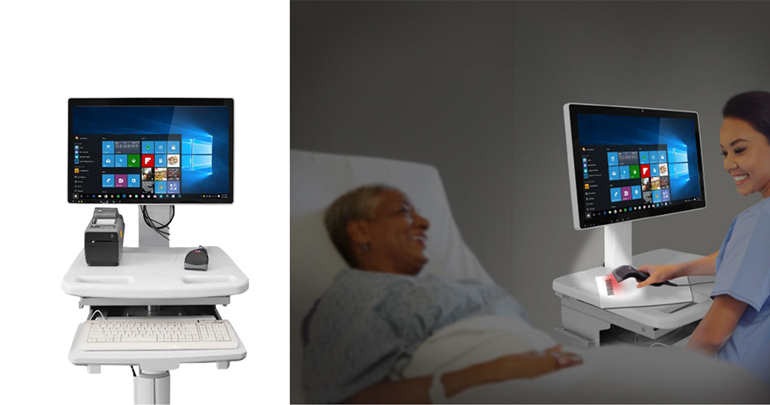 Medical computers are designed to stand up to harsh, medical-grade cleaners.