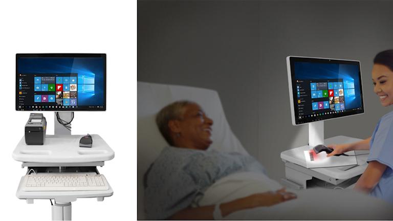 Promo 1 Medical Cart Computer