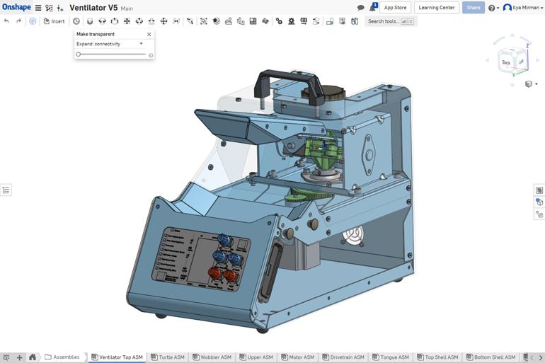 Meter a conçu et construit le ventilateur d'urgence Rise en 21 jours en réponse aux pénuries prévues de COVID-19.