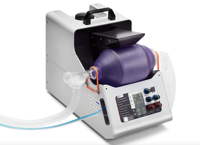 Le ventilateur d'urgence Rise a été conçu avec des composants facilement disponibles dans la chaîne d'approvisionnement afin de ne pas rivaliser pour les pièces à forte demande nécessaires aux ventilateurs existants sur le terrain.