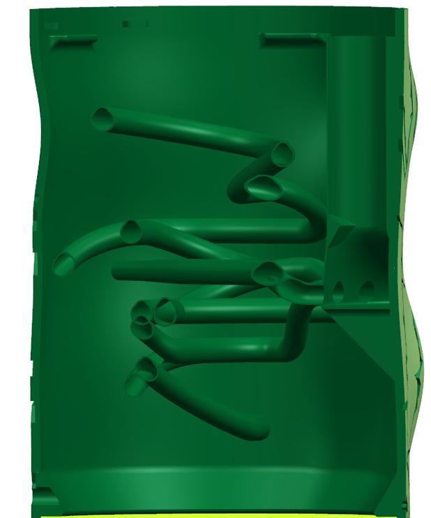 Modèles CAO de mangeoire de cricket en métal imprimé en 3D pour le zoo de Cincinnati.