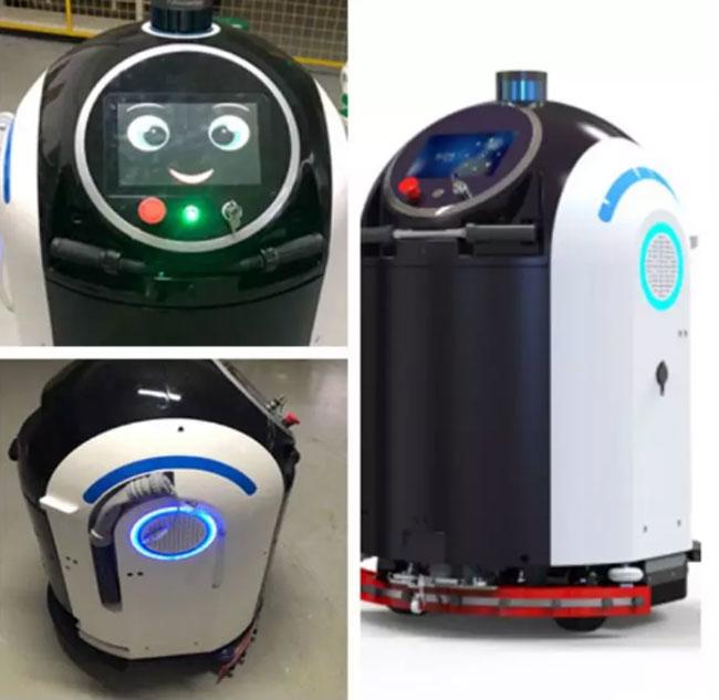 Les technologies de détection 3D d'Orbbec sont utilisées dans une variété de robots de désinfection.