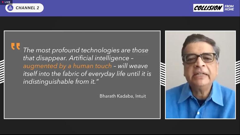 Bharath Kadaba, directeur de l'innovation, Intuit.