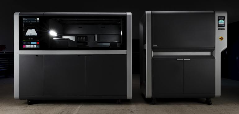 Desktop Metal's Shop System printer and furnace.