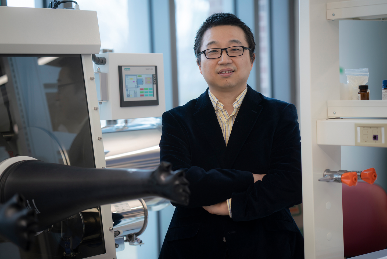 Wenzhuo Wu, professeur adjoint et récipiendaire de la bourse Ravi et Eleanor Talwar Rising Star en génie industriel de Purdue.