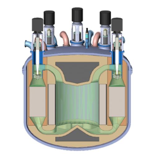 Concept de conception de la technologie de réacteur rapide au chlorure fondu TerraPower.