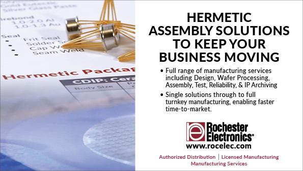 Rochester Electronics Hermetic 595x335 Mwrf 010721 Kmr
