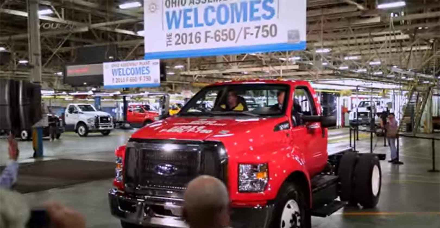 Ford Fires Back At Trump With Us Truck Stats New Equipment Digest