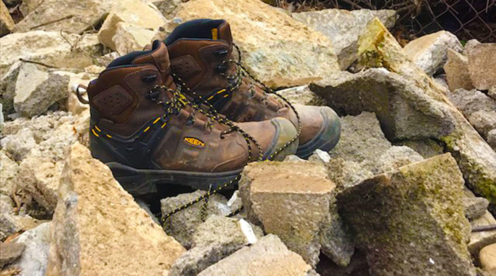 Comfortable, Secure Work Boots