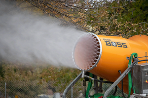 The DB-60 delivers a powerful mist with a range of up to 200 ft (60 m).