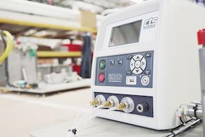 A Cincinnati Test Systems leak test machine.
