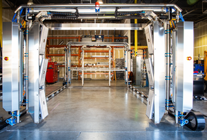 The US AutoCure system takes curing to the next level, with a gas-catalytic infrared system that results in shorter cure cycles and smaller floor space requirements.
