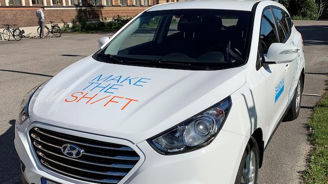 San014 Sandvik Hydrogen Car Image