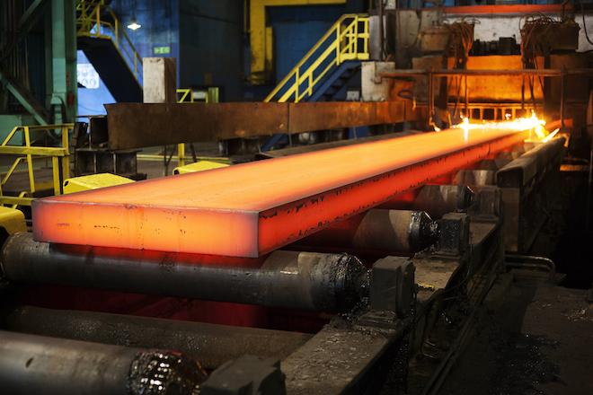 San084 Steel Production Image