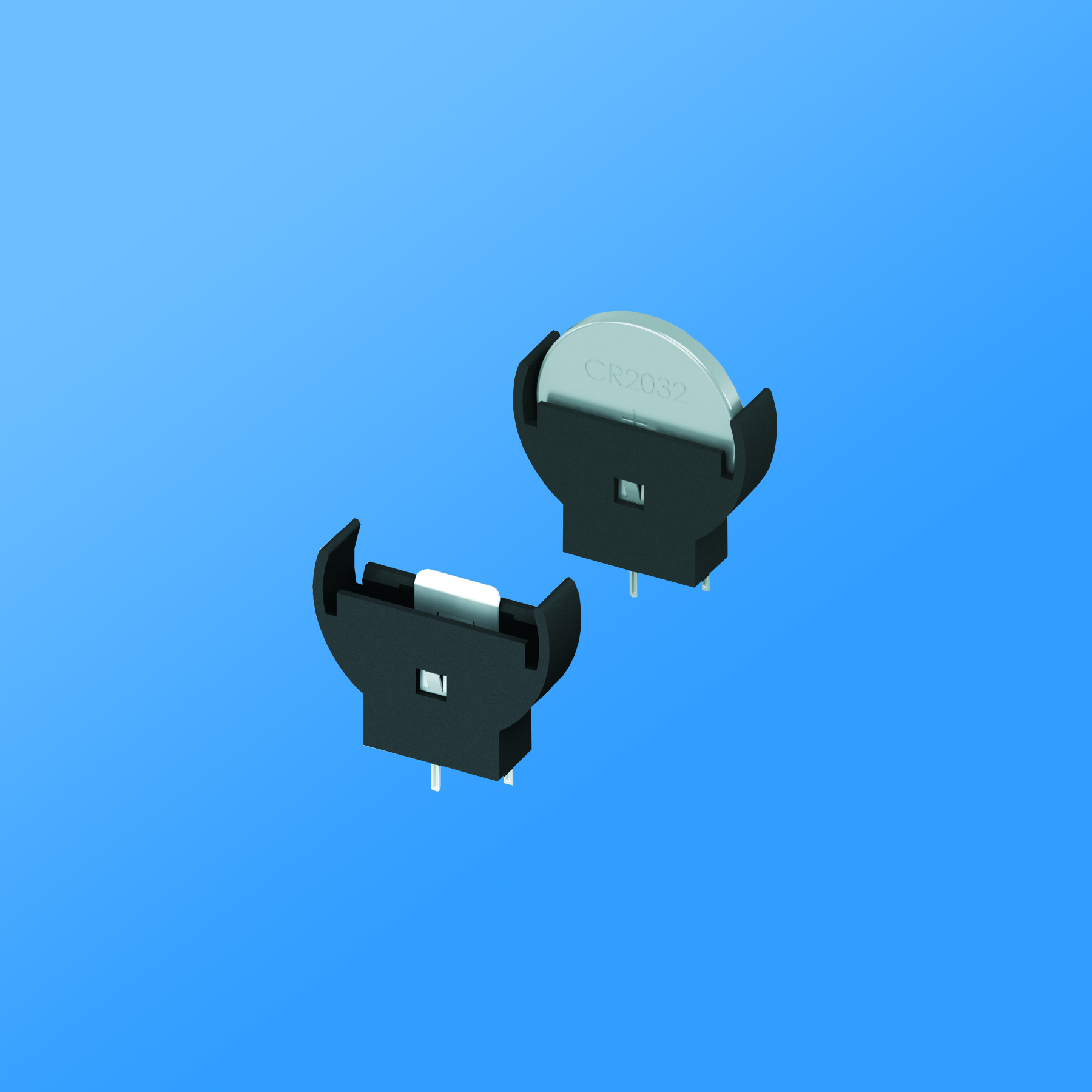 2020 Surface Mount Button Coin Single Cell Holder 2016 2025 and 2032