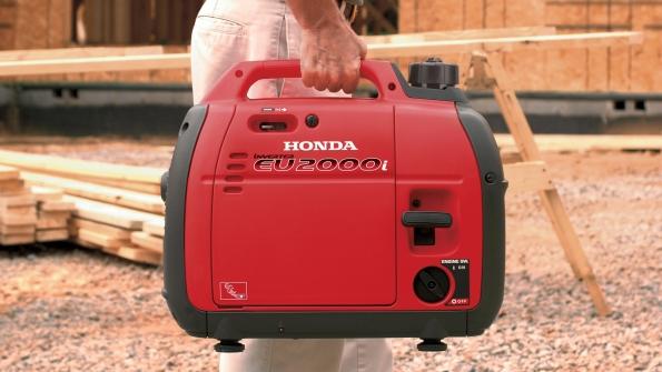 Honda Equipment Expands Generator