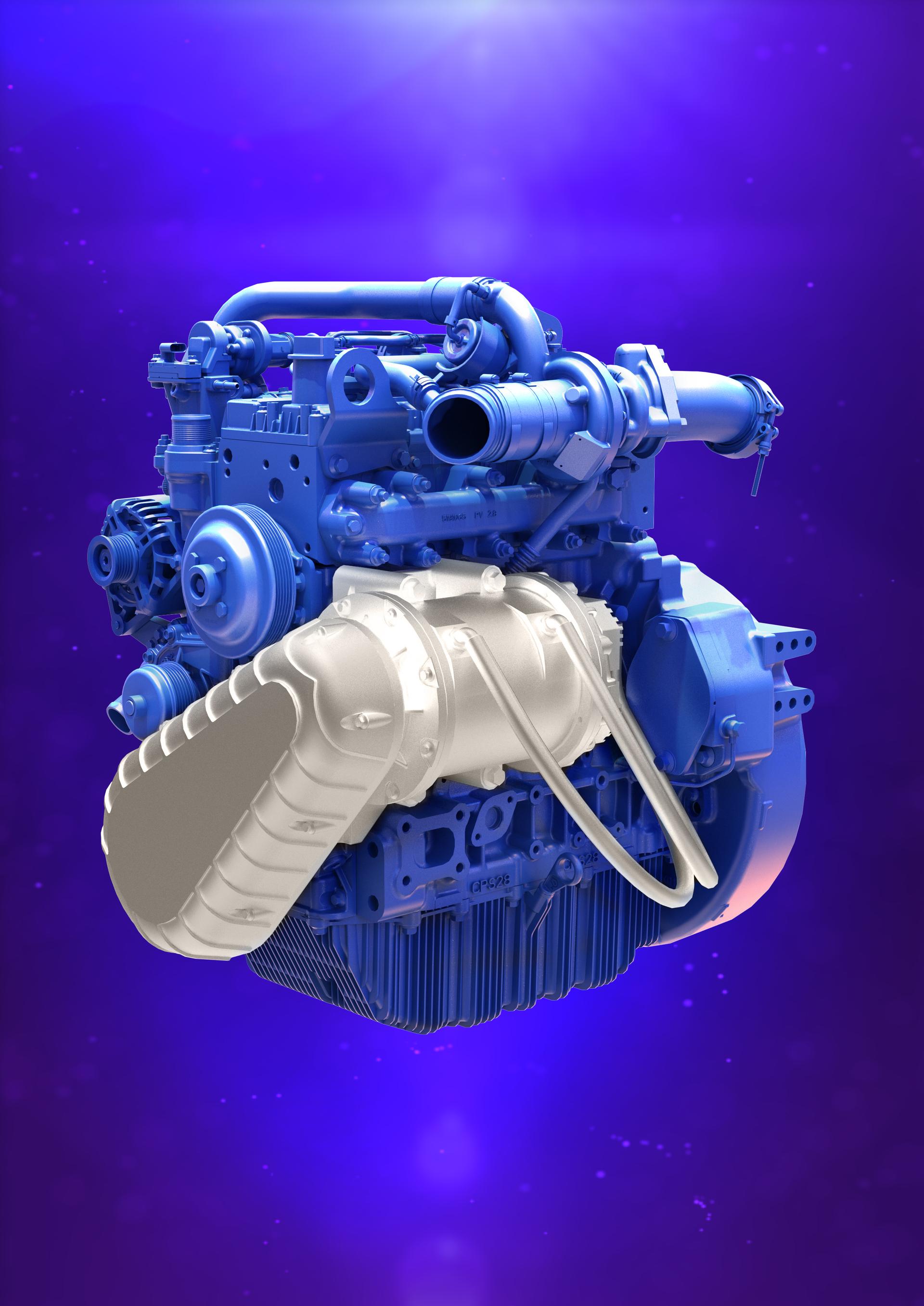 Perkins Syncro 2.8 litre hybrid engine