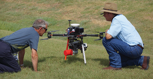 McCord Engineering uses a UAV to collect LiDAR data to carry out engineering modeling for Mid-South Synergy's vegetation work plans.