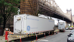 GE water treatment trailers provide a bit of breathing room while permanent solutions were engineered and installed.