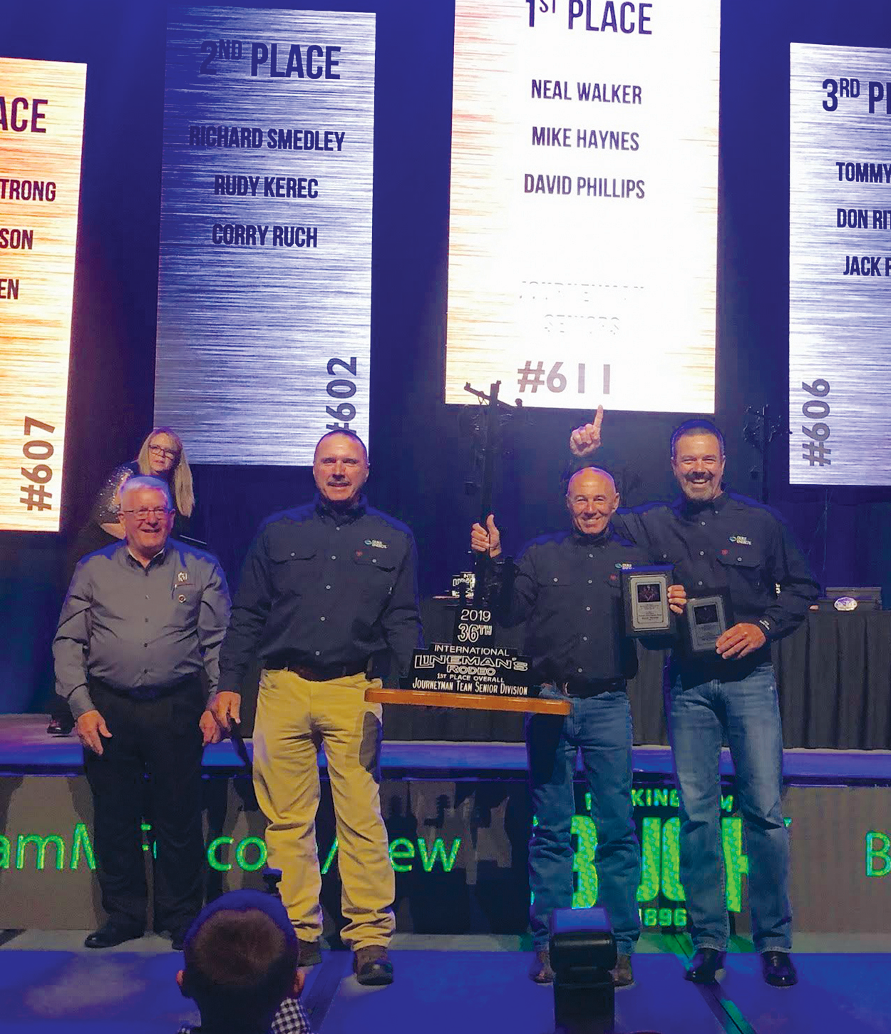 Rodeo Champs Win Top Honors For Safety And Speed T D World