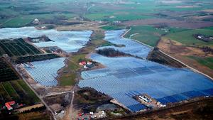 Solar District Heating in Silkeborg, Denmark.