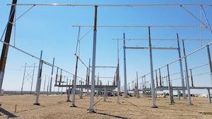 345k V Carpenter Substation Hugoton Kansas Xcel Energy
