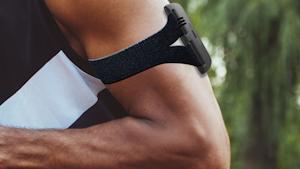 Kenzen Smart Patch On Arm