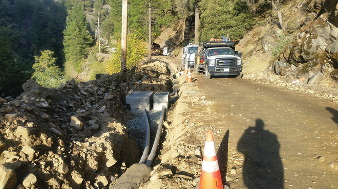 SMUD completed this high fire threat district distribution undergrounding project in the fourth quarter of 2019.