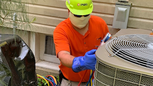Michael Vega As Tech 2 C Repairing Air Conditioner May 26 2020
