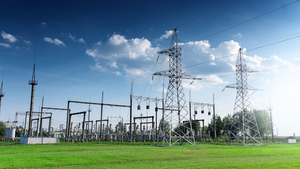 Substation In Field Getty