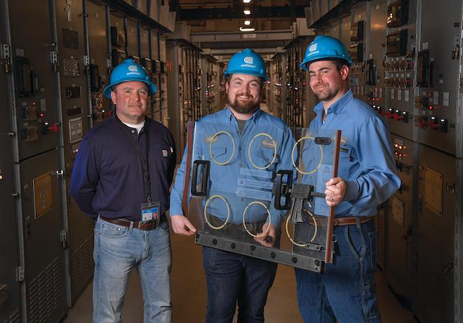 Inventors: Left to right: Joe Szabo, Matt Johnson, Eric M. Fell.