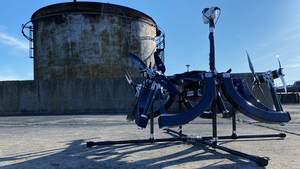 A Skygauge Robotics industrial inspection drone