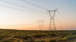 Power Lines West Aleksandr Vorobev