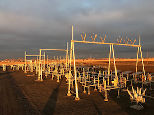 Completed In Jan 2020 By Energy Erectors The Weld County Colo Gateway Substation Is A New 230 115 12 47 K V Substation